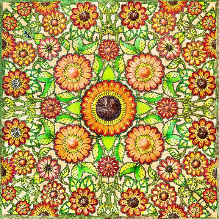 https://flic.kr/p/CSKKxR | Secret Garden. Colouring book by Johanna Basford