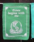 global peace flag string