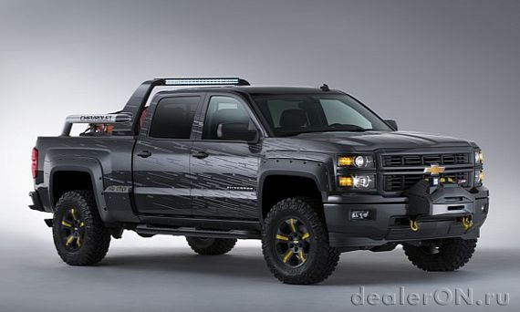 Концепт специального концепта Chevrolet Silverado Black Ops (Шевроле Сильверадо Блэк Опс)