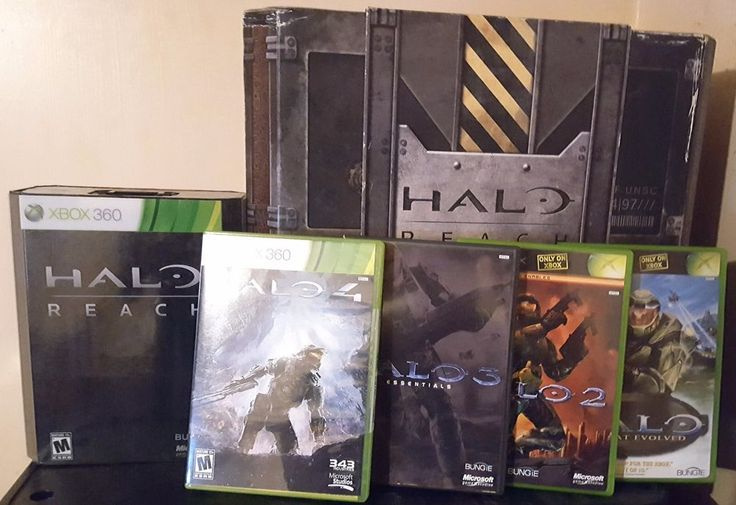 Halo Reach Legendary Edition Xbox 360 CIB Noble Team Statue W/ Extra Games