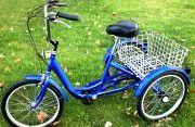 Triciclo R20 - Para adultos. http://www.angelimoto.com