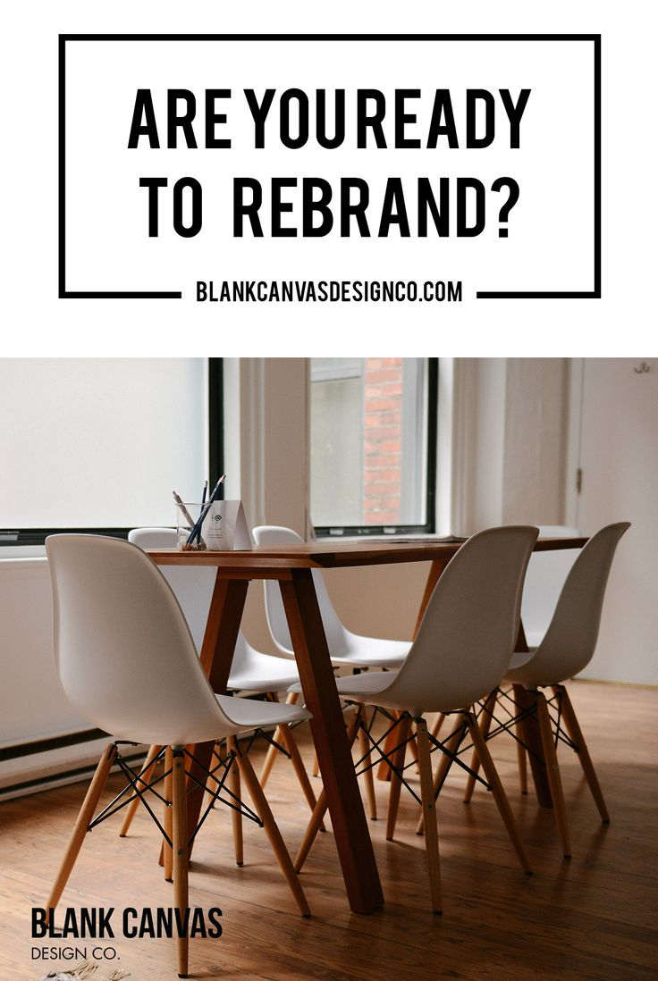 You've been in business for a few years and your brand is becoming outdated. Here are some things to think about when you are considering a rebrand.
