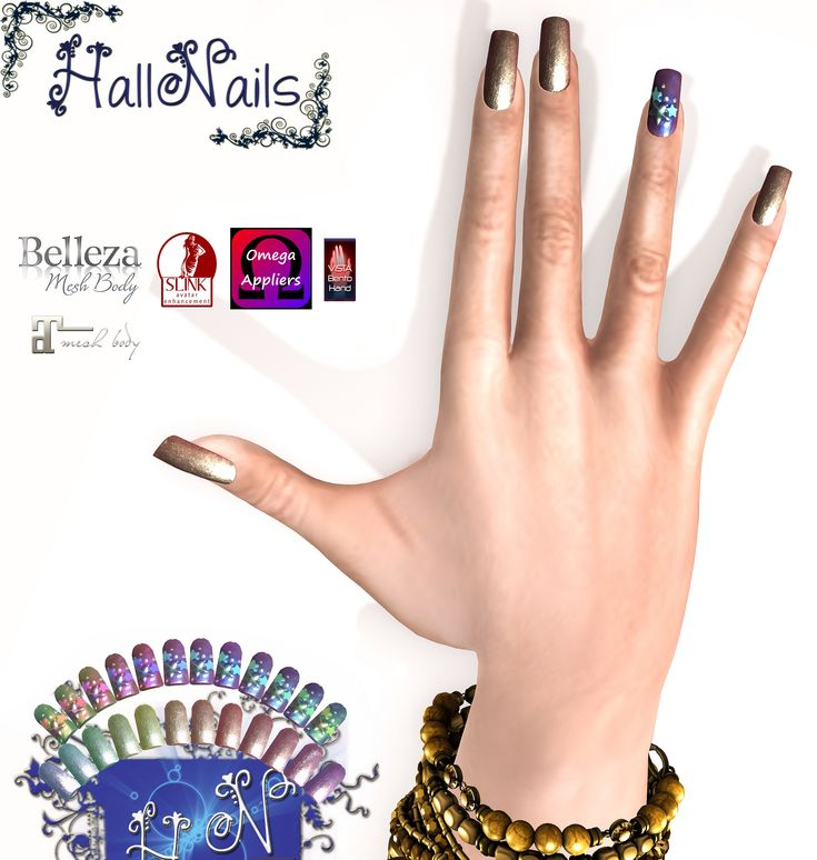 https://flic.kr/p/22x7LHc | New Nails for HallNails Stelline for New Nails for Event -Crazy-Fashion | start on 8 February/ 1 March  taxi maps.secondlife.com/secondlife/SCACCOMATTO/96/149/2899