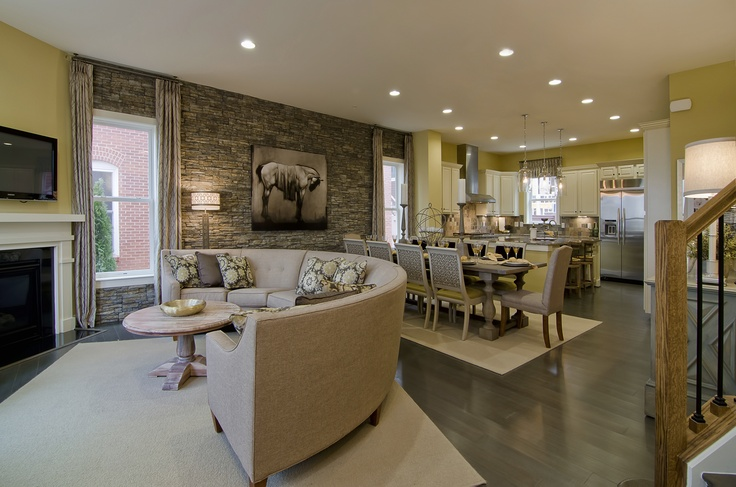 Interior Merchandising, Back-to-Back Townhouses And