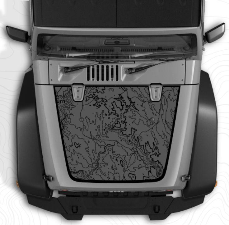 Custom Jeep Wrangler Hood Decal 295.00 **Yeah, this is
