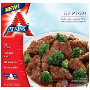Atkins Nutritionals Beef Merlot, 9 oz
