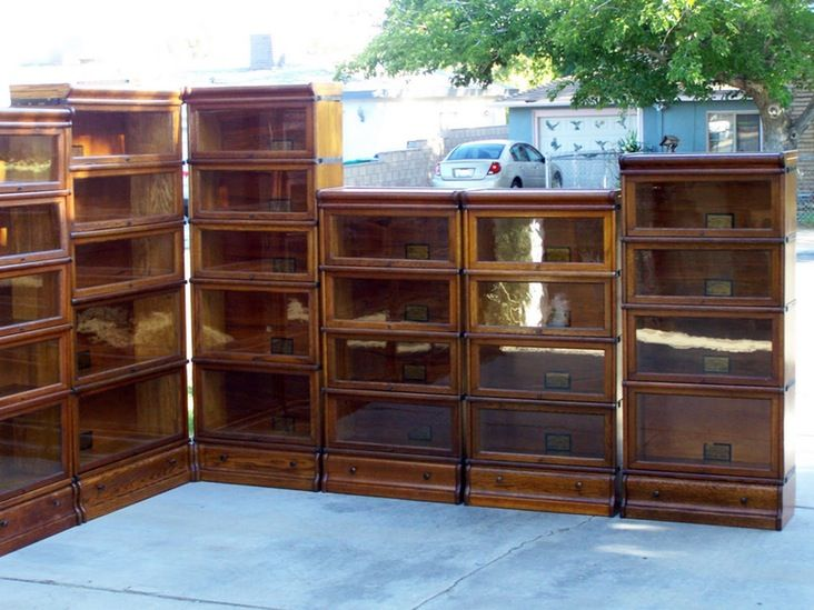 Corner Barrister Bookcase