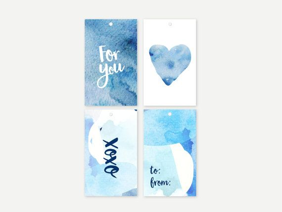 Gift tags by ithinkcreative on Etsy