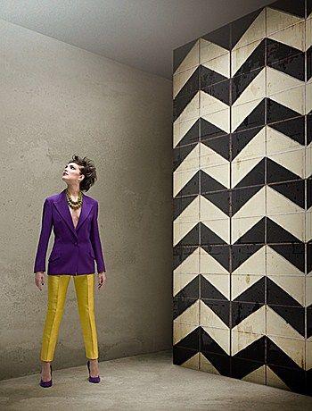 TILES V / Designer Gio Pagani / Carta da parati Wall&Decò #wallpapaer #art