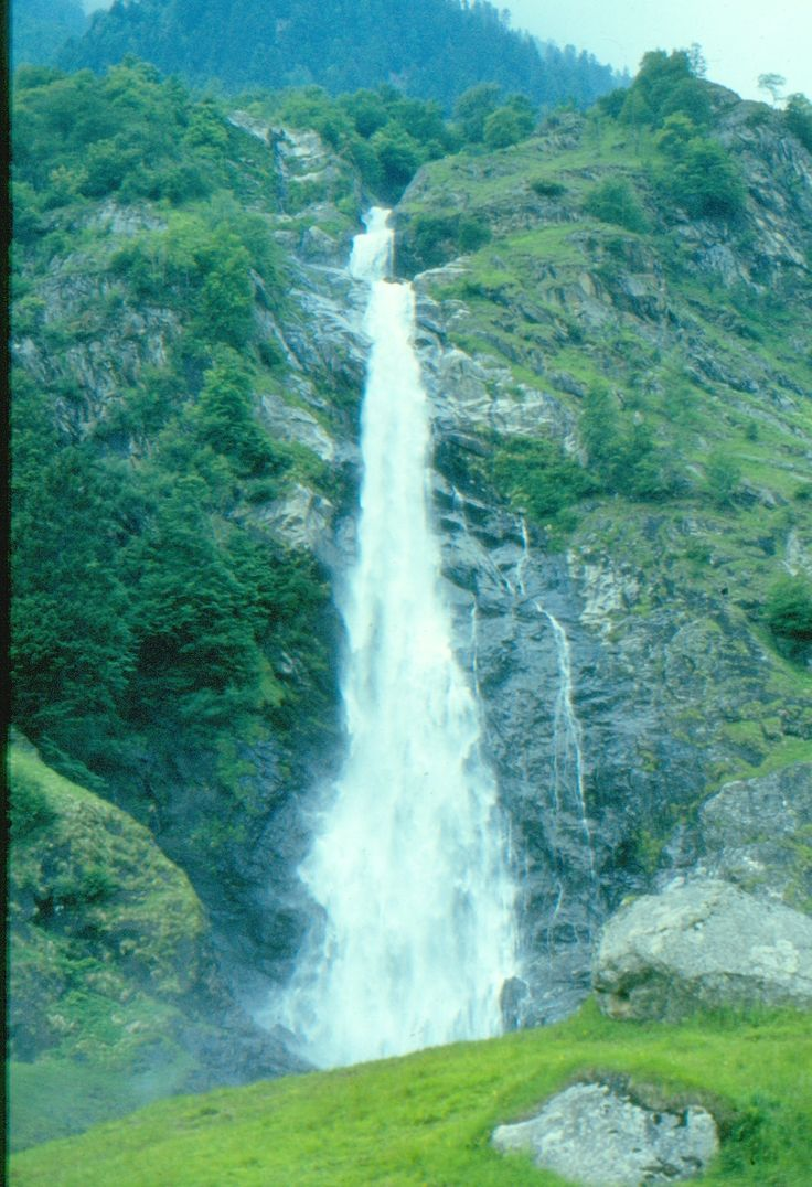 Wasserfall im Vinschgau / Südtirol