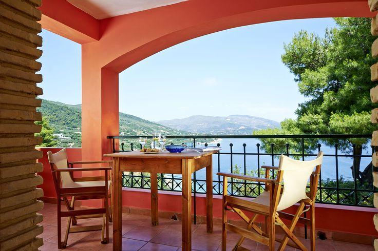 Villas Cavo Marathia Zakynthos - Turtle Island Sea View B - Balcony
