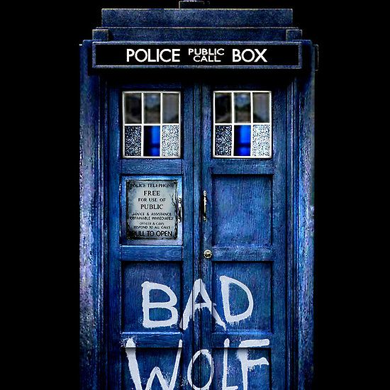 Tardis/Bad Wolf Phone Case | Talk Nerdy To Me | Pinterest