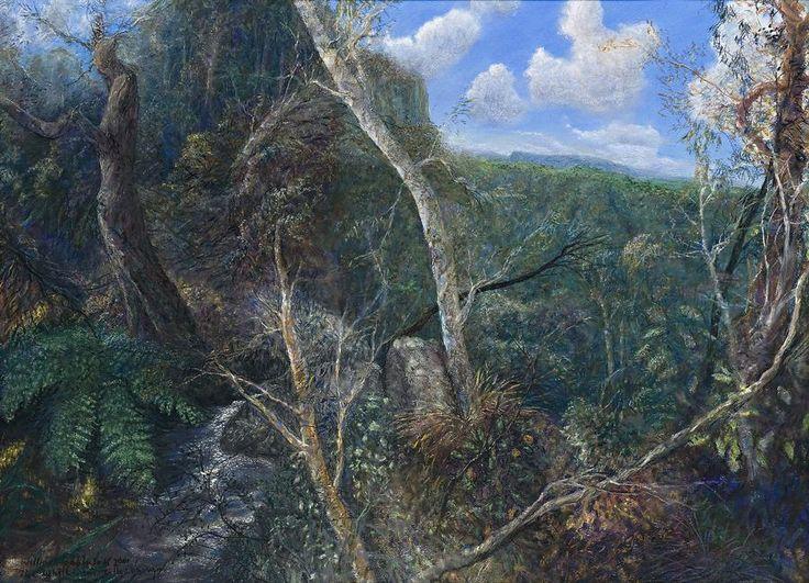 William Robinson 'The White Gum Tallanbanna', 2001 54.5 x 74.5 cm pastel on paper