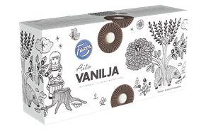 Fazer Filled biscuit real vanilla 345 g