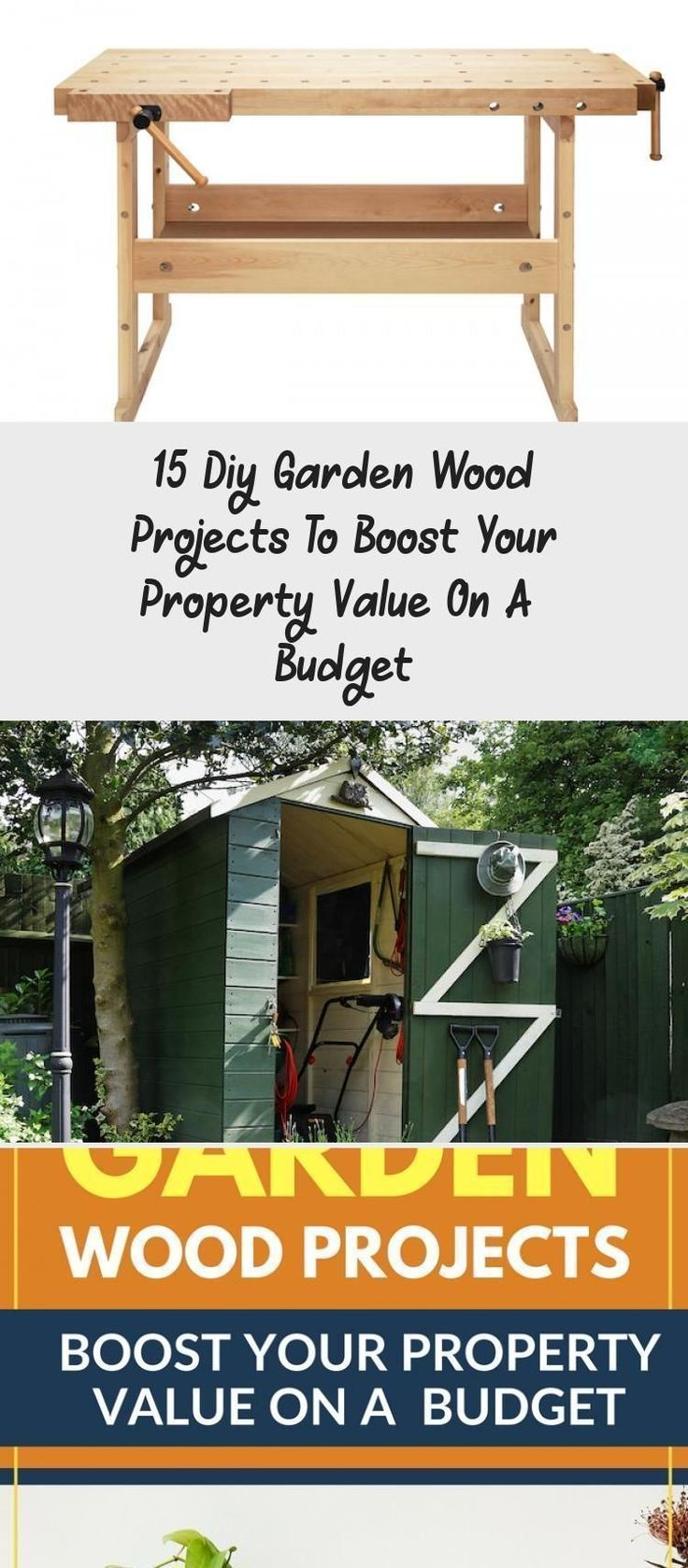 15 Diy Garden Wood Projects To Boost Your Property Value On A Budget Hangendekrautergarten Der Kleine Hangende Krautergarten In Der Kuche In 2020 Wood Projects Diy Projects