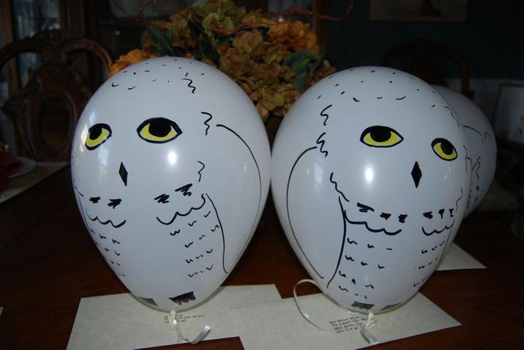 hedwig balloon | Mischief Managed | Pinterest | Owl ...