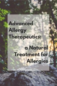 Advanced Allergy Therapeutics a Natural Treatment for Allergies