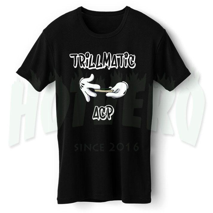Asap Mob Trillmatic Hip Hop T shirt //Price: $14.00//     #cheapurbanclothing