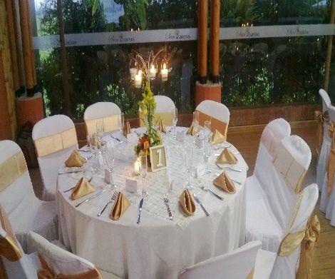 Hacienda para bodas en Bogotá  Decoración de salón