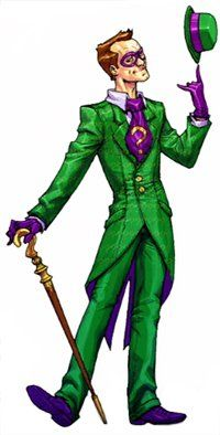 The Riddler (Edward Nigma) - Arkham Asylum