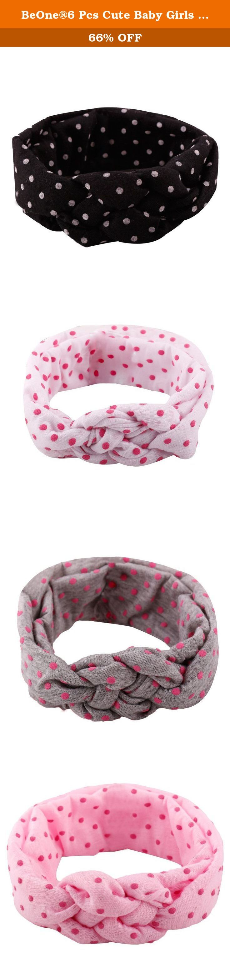 BeOne®6 Pcs Cute Baby Girls Dot Turban Headband Head Wrap Knotted Hair Band Set. Attention please: BeOne is a registered trademark, and is exclusively distributed by BeOne. BeOne trademark is protected by Trademark Law. All rights reserved. Delivery Time: The estimated delivery time will be 10-15 business days to arrive in USA and there is no any extra cost,please ignore the Amazon delivery time,it is just default time of the Amazon. Feedback: Your satisfaction and positive feedback is…