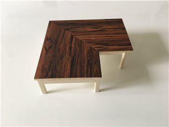 Dockskåpsmöbel BRIO (retro) soffbord (kort auktion) på Tradera.com -