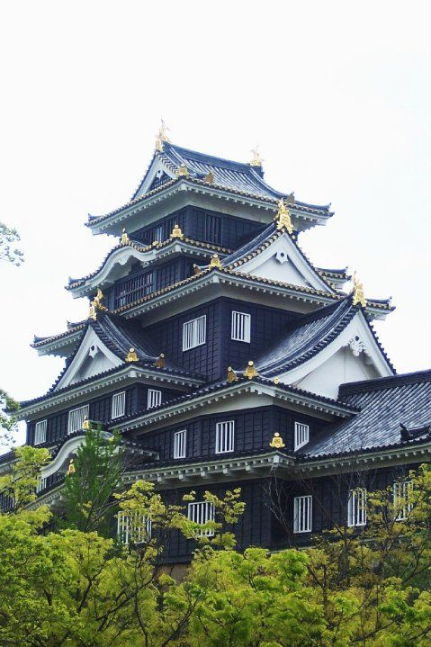 Japanese Castle: Okayama #Japan #Castle real japan, japan, japanese, castle, japanese castle, fortress, osaka, tokyo, kyoto, himeji, bitchu matsuyama, takeda, tour, trip, travel, guide, adventure, epxlore, plan, architecture hirosaki http://www.therealjapan.com/subscribe/