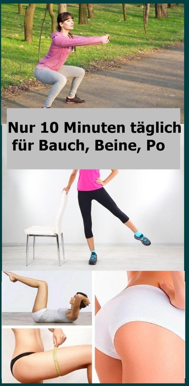 Nur 10 Minuten täglich für Bauch, Beine, Po | njuskam! – A.A.