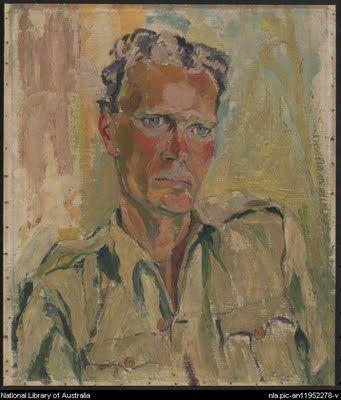 Lina Bryans, (1909-2000) portrait of Jock Marshall 1945.