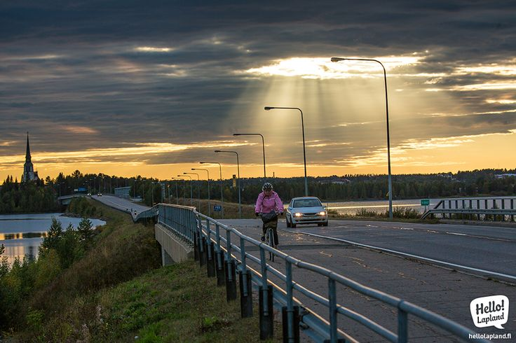Divine light over Kemijärvi 2.9.2013.