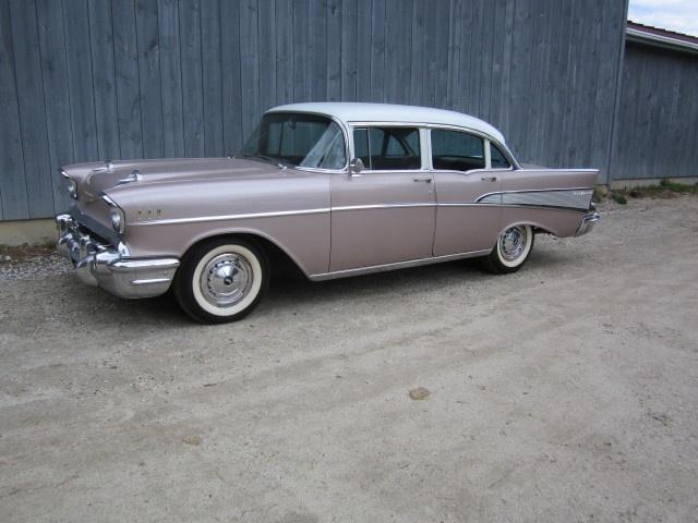 1957 chevrolet bel air 4 door sedan tri five chevrolets for 1957 chevrolet 4 door sedan