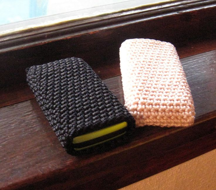 Great idea for your cell phone | Knitting | Pinterest ...