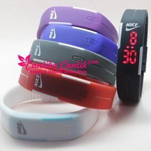 Jual Jam Tangan Gelang LED Trendy & Sporty. Jam Gelang LED Nike tersedia berbagai macam warna. **Selengkapnya: http://c-cantik.me/ho0t7 **Order Cepat: http://m.me/cantikacantik.id  KONTAK KAMI DI - PIN BBM 2A8FB6B4 - SMS / WA 081220616123 Untuk Fast Response