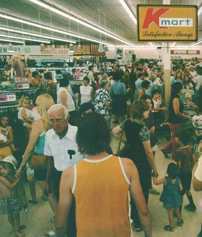 Pleasant Family Shopping: Kmart - That 70's Store