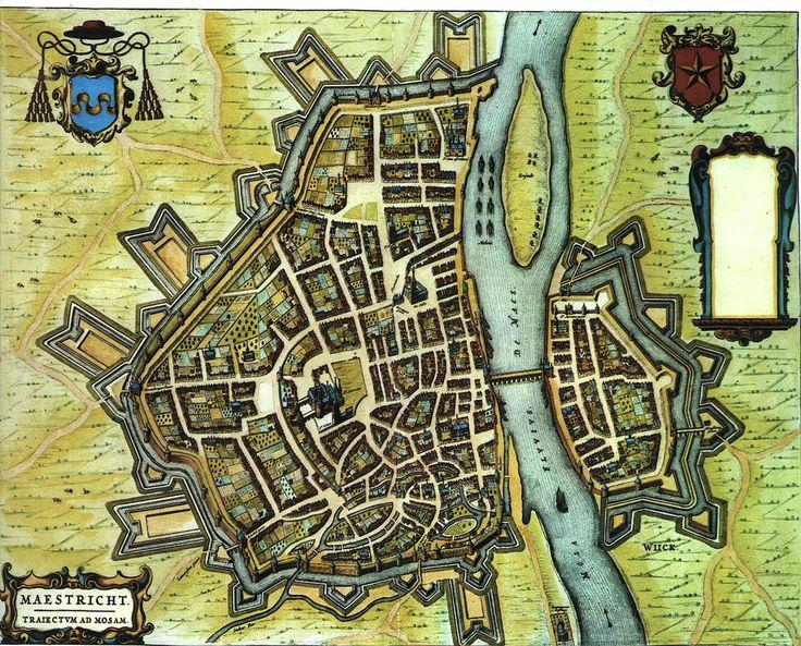 Mestreech - Blaeu 1652