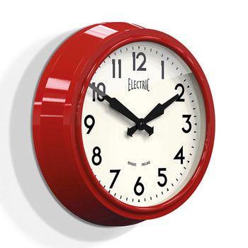 Les 25 meilleures id es de la cat gorie horloge murale vintage sur pinterest horloge for Horloge murale style bistrot