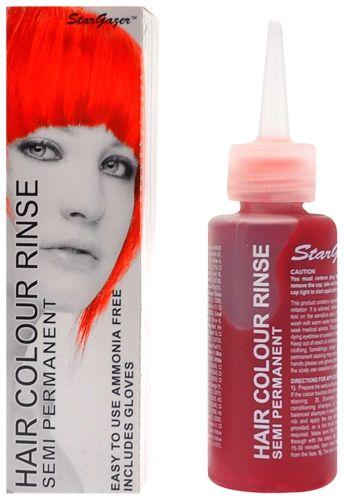 coloration stargazer hot red teinture orange cheveux semi permanente pour une - Coloration Rouge Permanente