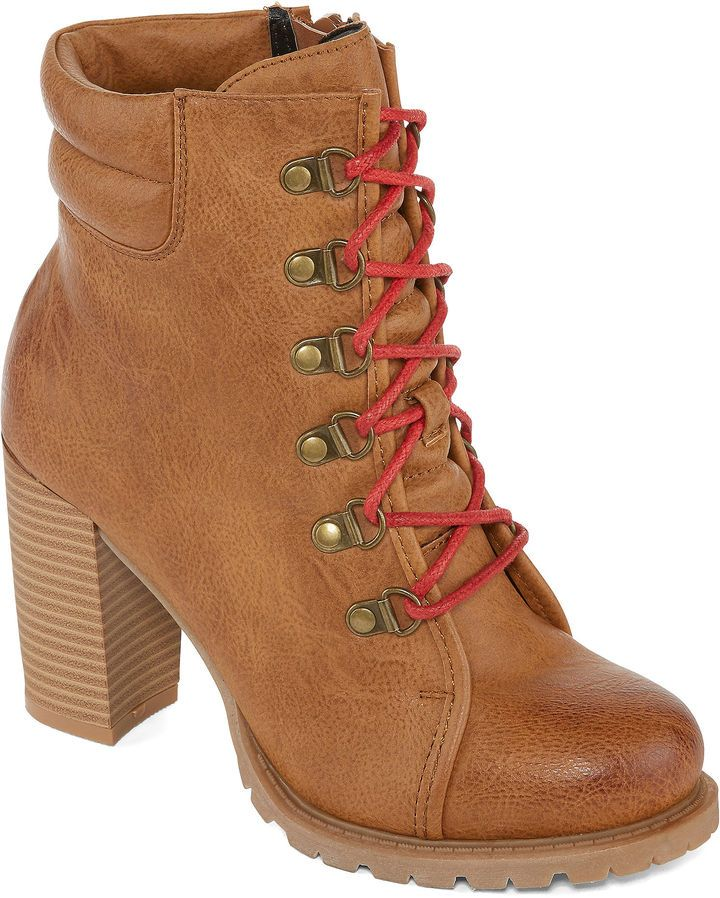 1507dd330383d JUST DOLCE BY MOJO MOXY Just Dolce By Mojo Moxy Neveah Womens Hiking Boots