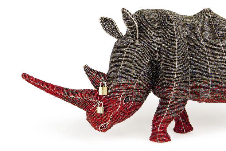 Adult Locked Horn Rhino  http://lockedhornproject.com/buy-a-rhino/adult-rhino #stoprhinopoaching #africancreative #rhino