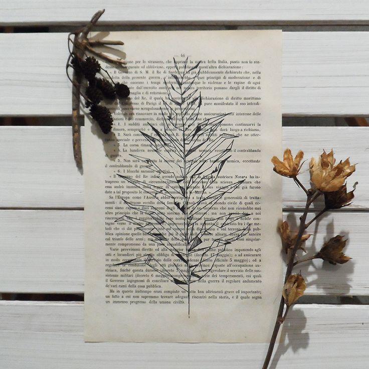 TrueNoire- Vintage Book Page on Etsy www.etsy.com/it/shop/TrueNoire
