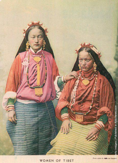 Photos Anciennes: Les Tibétains - Frawsy