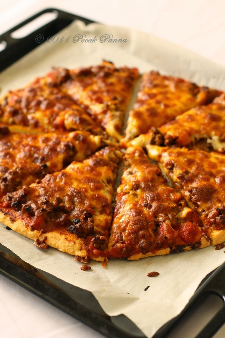 Majdnem Paleo Pizza #glutenfree #pizza