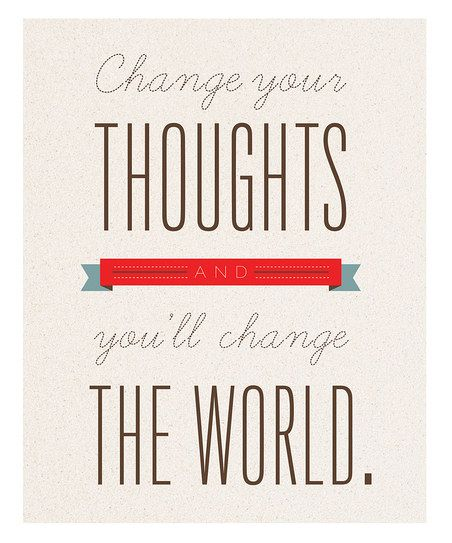 """Change your thoughts - renew your mind each and every day. """"The Red Sea Solution"""""""