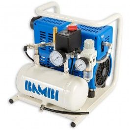 Bambi has over 40 years experience in compressor manufacturing behind it. The PT range of direct drive air compressors features low noise when running and 100% oil free operation, delivering a low maintenance solution of quiet, oil free compressed air. Th