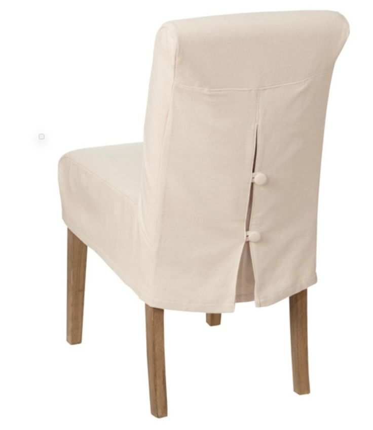 Pretty Covers Sized To Fit Our Shorter Echo Dining Chair Available In Neutral Off White And Oatmeal Cotton