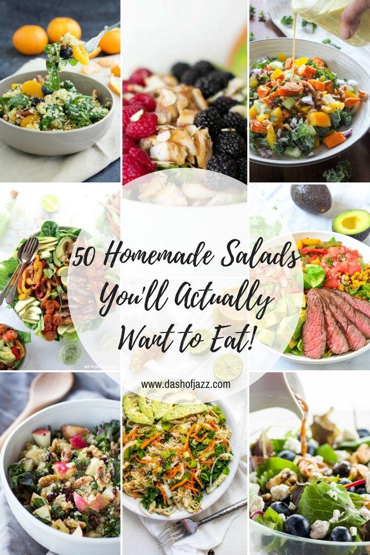 2682 best salads images on Pinterest | Cooking food, Salad recipes ...