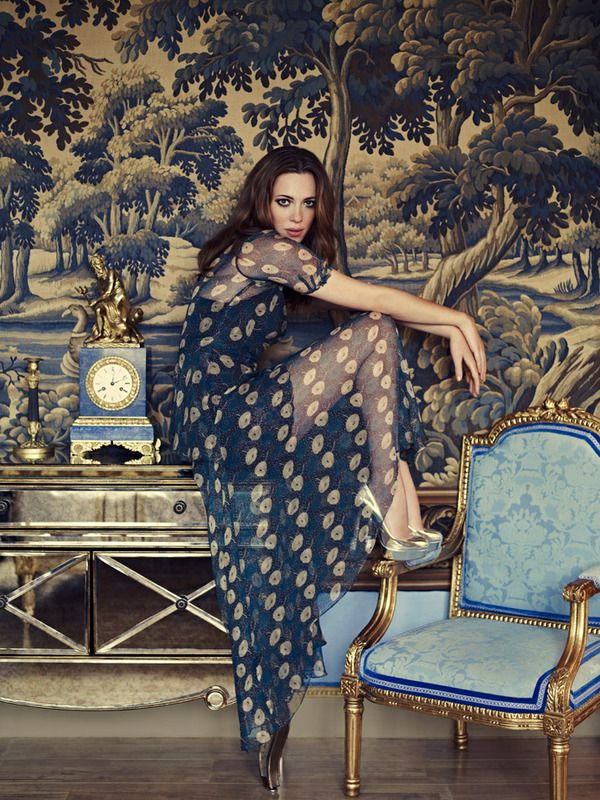 Rebecca Hall by Jason Bell | Vanity Fair on Couture | November 2011