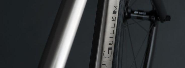 MerKabici  J.Guillem una marca de bicicletas que produce cuadros en titanio inspirados en las carreteras de Mallorca