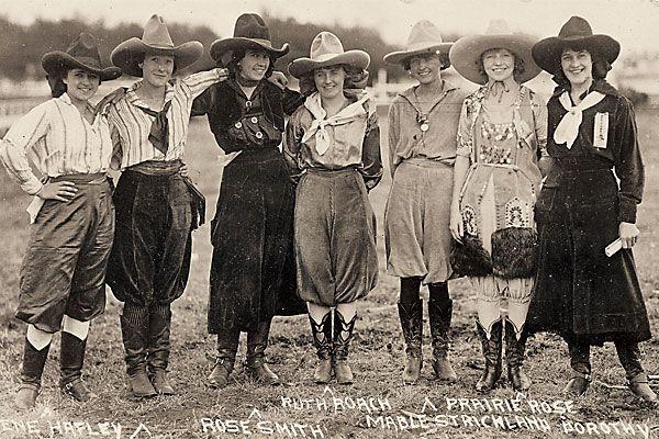 Vintage Rodeo Queens