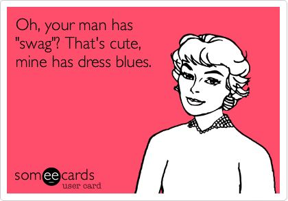 Dress blues trump everything.